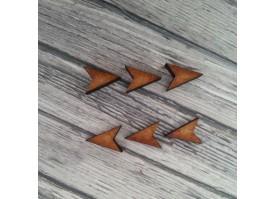 pointes bois (x6)