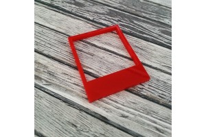 pola plexi rouge 4cm