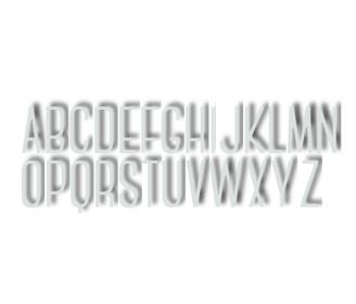 dies alphabet
