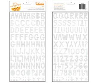 alphabet ALYX blanc/argent