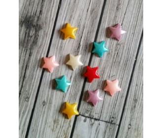 mini-étoiles couleurs vives