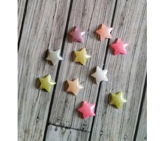 mini-étoiles pastel