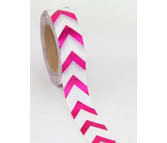 making tape chevrons foil rose