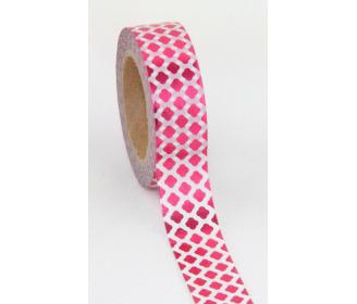 masking tape motifs foil rose