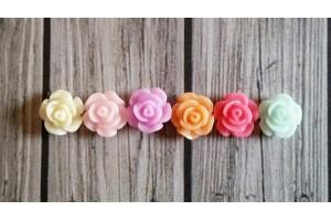mini rose résine