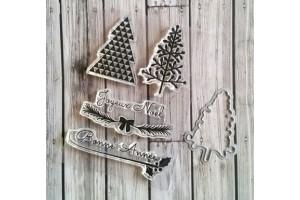 mini planche de Noël et son die assorti