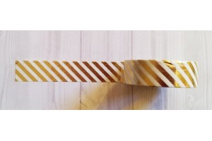 masking tape fines diagonales foil or