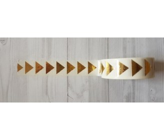 masking tape gros triangles foil or fond blanc