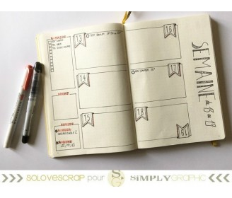 planche textes planner/bujo