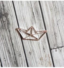 breloque bateau origami