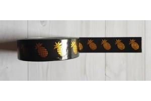 masking tape ananas foil or fond noir