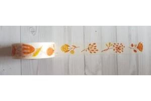 masking tape fleurs jaunes