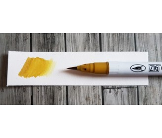 feutre Zig Clean Color Real Brush Ochre