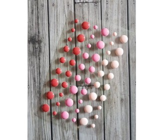 enamel dots roses-rouges