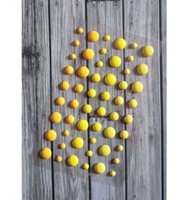 enamel dots jaunes