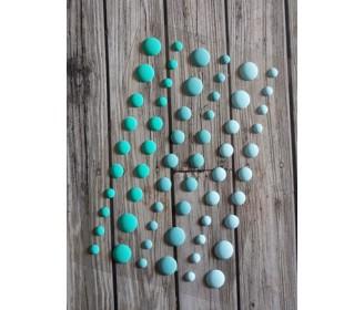 eamel dots mats bleus