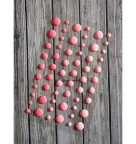 eamel dots mats rose dégradé