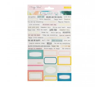 stickers Crate Paper Chasing Dreams phrases