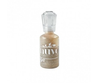 encre Nuvo Crystal Drops glitter honey gold