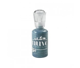 encre Nuvo Crystal Drops glitter dazzling blue