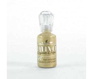 encre Nuvo crystal drops pale gold