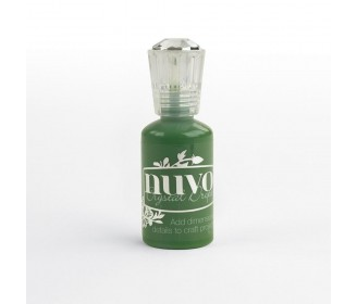 encre Nuvo crystal drops woodland green