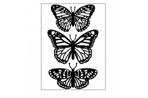 classeur d'embossage Darice butterfly trio