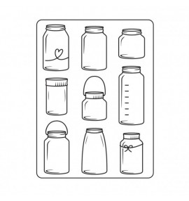 classeur d'embossage Darice jars