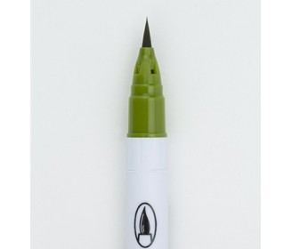 feutre Zig Clean Color Real Brush Olive Green