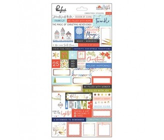Pinkfresh Studio December Days cardstock stickers