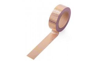 masking tape géométrique foile or fond rose