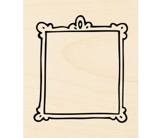 cadre baroque rectangle