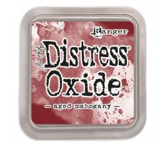 Distress Oxide aged Mahogany