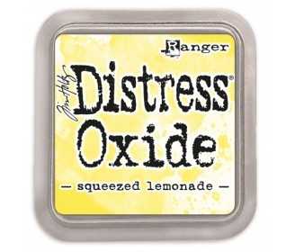 Distress Oxide squeezd lemonade
