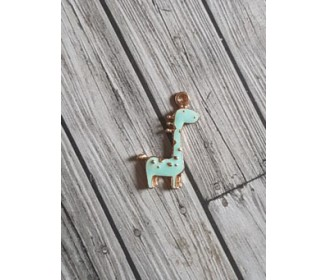 breloque girafe mint