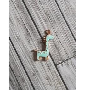 breloque girafe mint