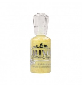 encre nuvo glitter drops yellow bird