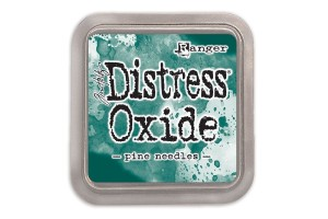 Distress Oxide pine needles