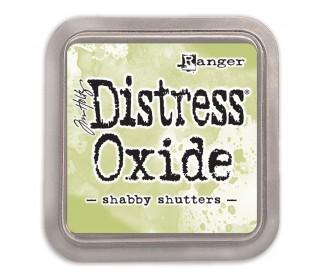 Distress Oxide shabby shutter