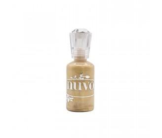 encre Nuvo crytsal drops mustard gold