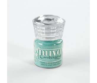 poudre d'embossage Nuvo cool jade