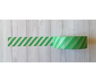 masking tape diagonales mint