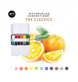 Watercolor confections - the classics