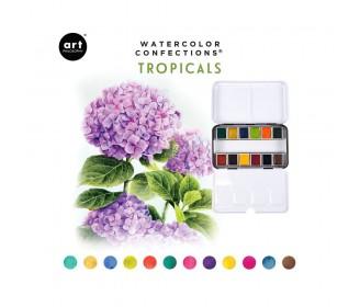 Watercolor confections - Tropicals