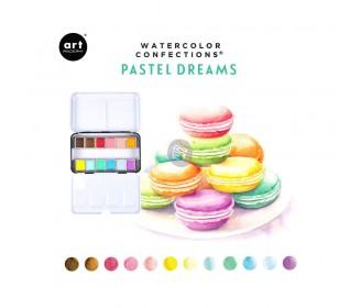 Watercolor confections - Pastel Dreams