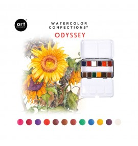 Watercolor confections -Odyssey