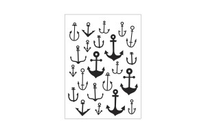 classeur d'embossage Darice scattered anchors