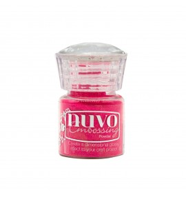 poudre d'embossage Nuvo strawbery slush