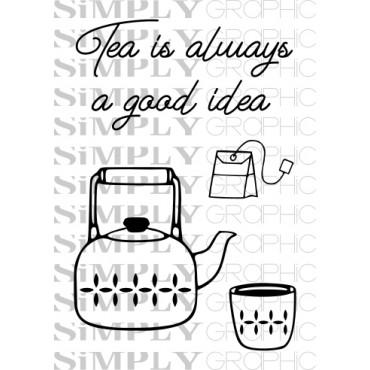 mini planche tea is always...