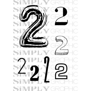 mini placnhe chiffre 2